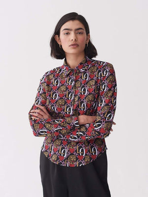 Lazy oaf Oaf Tiger Crest Shirt Multi foto 3