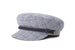 cappelli brixton FIDDLER CAP WASHED NAVY/WHITE