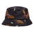 cappelli huf MOTHRA BUCKET HAT BLACK