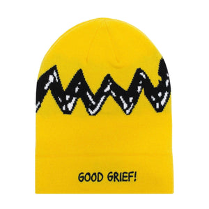 huf Peanuts Charlie Brown Beanie Yellow foto 2