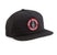 cappelli loser machine GOOD LUCK SNAPBACK HAT BLACK