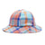 cappelli obey ARTHUR BUCKET HAT TEAL MULTI