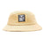 cappelli obey ICON LABEL BUCKET HAT DUCK BROWN