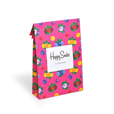 confezioni happy socks HS GIFT BAG BERRIES