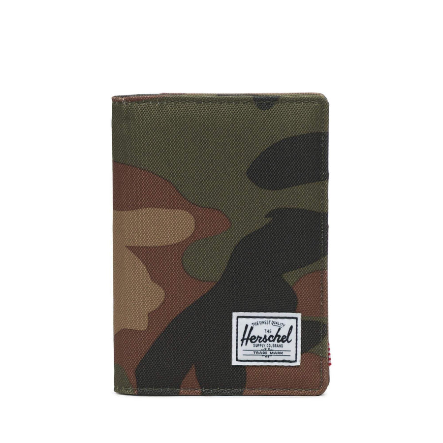 herschel custodie,Raynor Passport Holder Rfid Woodland Camo, image 1