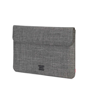 herschel Spokane Sleeve For 12 Inch Macbook Raven Crosshatch foto 2