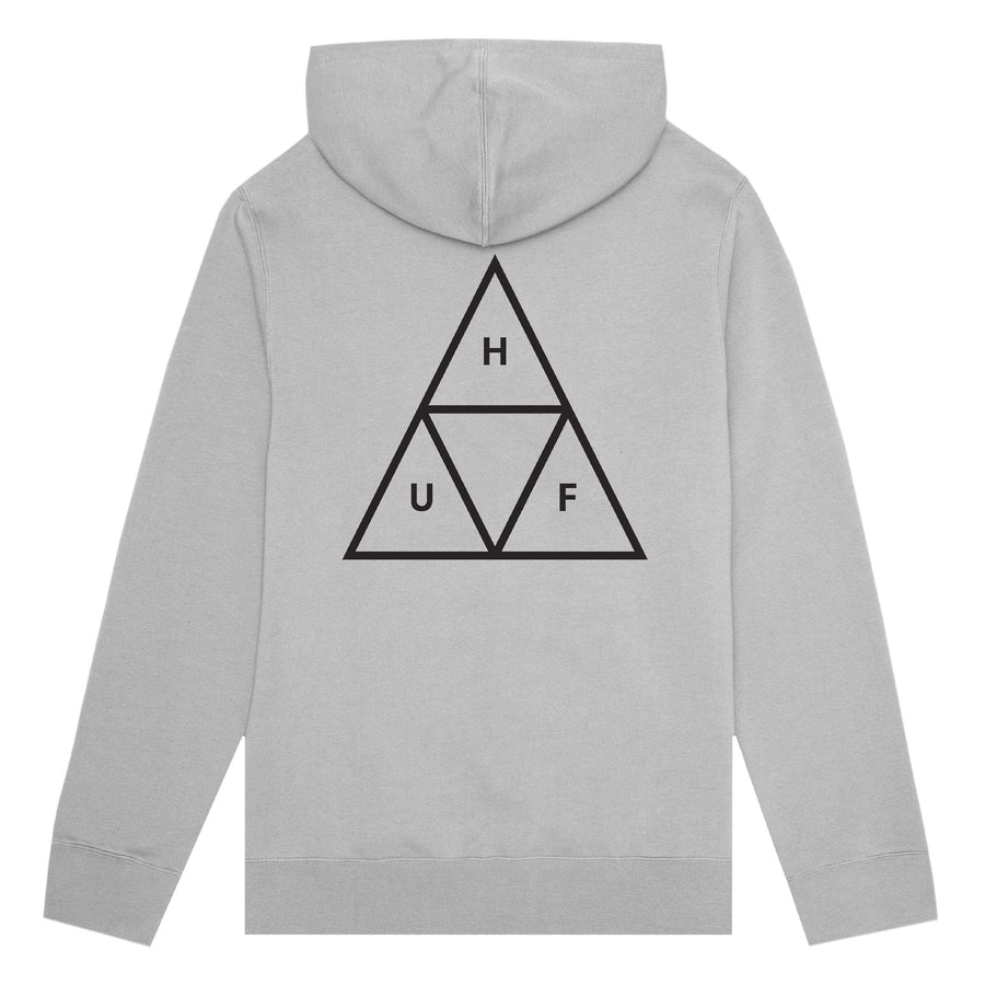 huf felpe,Essentials Tt P/O Hoodie Grey Heather, image 1