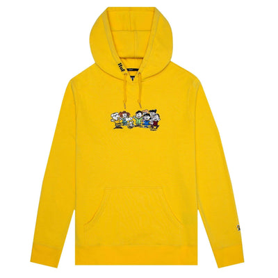 felpe huf PEANUTS END CREDITS P/O FLEECE YELLOW