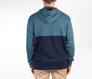 hurley Blocked Pullover Fleece Ash Green foto 2