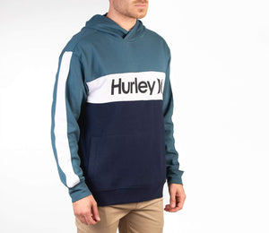 hurley Blocked Pullover Fleece Ash Green foto 4