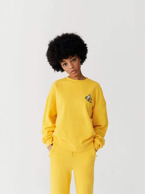 felpe Lazy oaf BANANA SWEATSHIRT YELLOW