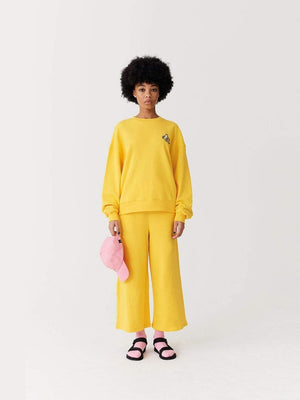 Lazy oaf Banana Sweatshirt Yellow foto 2