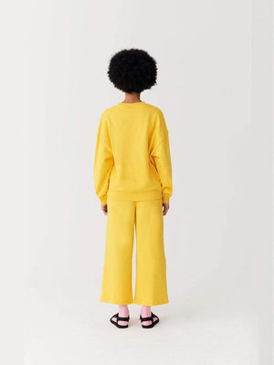 Lazy oaf Banana Sweatshirt Yellow foto 5