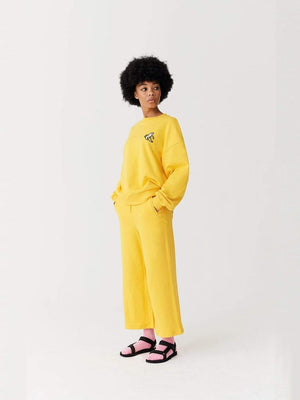 Lazy oaf Banana Sweatshirt Yellow foto 4