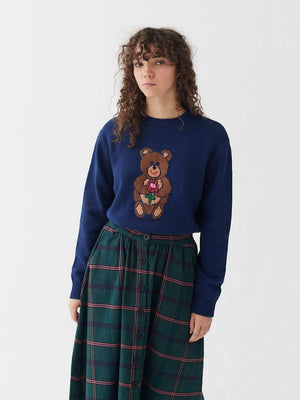 lazy oaf Bearing Gifts Jumper Blue foto 2