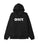 felpe obey BOLD BOX FIT HOODED FLEECE BLACK
