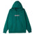 felpe obey CHELSEA HOOD PREMIUM HOODED FLEECE MALLARD GREEN