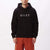 felpe obey CURTIS HOOD FLEECE BLACK