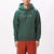 felpe obey CURTIS HOOD FLEECE MALLARD GREEN