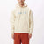 felpe obey CURTIS HOOD FLEECE NATURAL