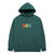 felpe obey NO EVIL PREMIUM HOODED FLEECE MALLARD GREEN