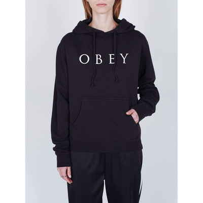 felpe obey NOVEL OBEY 2 DUSTY BLACK