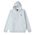 felpe obey OBEY BOLD PREMIUM HOODED FLEECE ASH GREY