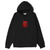 felpe obey STACK HOOD FLEECE BLACK