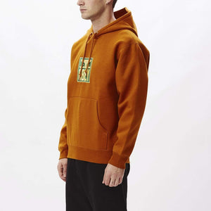 obey Stack Hood Fleece Pumpkin Spice foto 3
