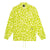 giacche huf NEO LEOPARD COACH JACKET HOT LIME