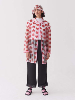 Lazy oaf See Through Heart Mac Pink foto 2