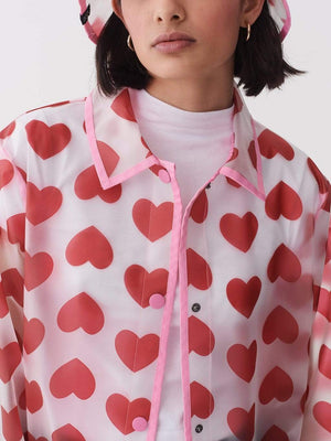 Lazy oaf See Through Heart Mac Pink foto 3