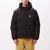 giacche obey FELLOWSHIP PUFFER JACKET BLACK