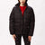 giacche obey IRVING PUFFY COAT BLACK