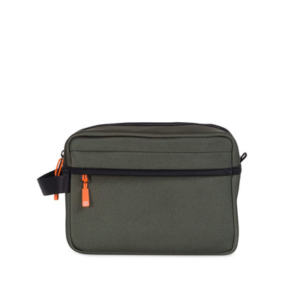pouch herschel CHAPTER NEOPRENE TRAVEL • 1343 RIFLE GREEN/NEON ORANGE