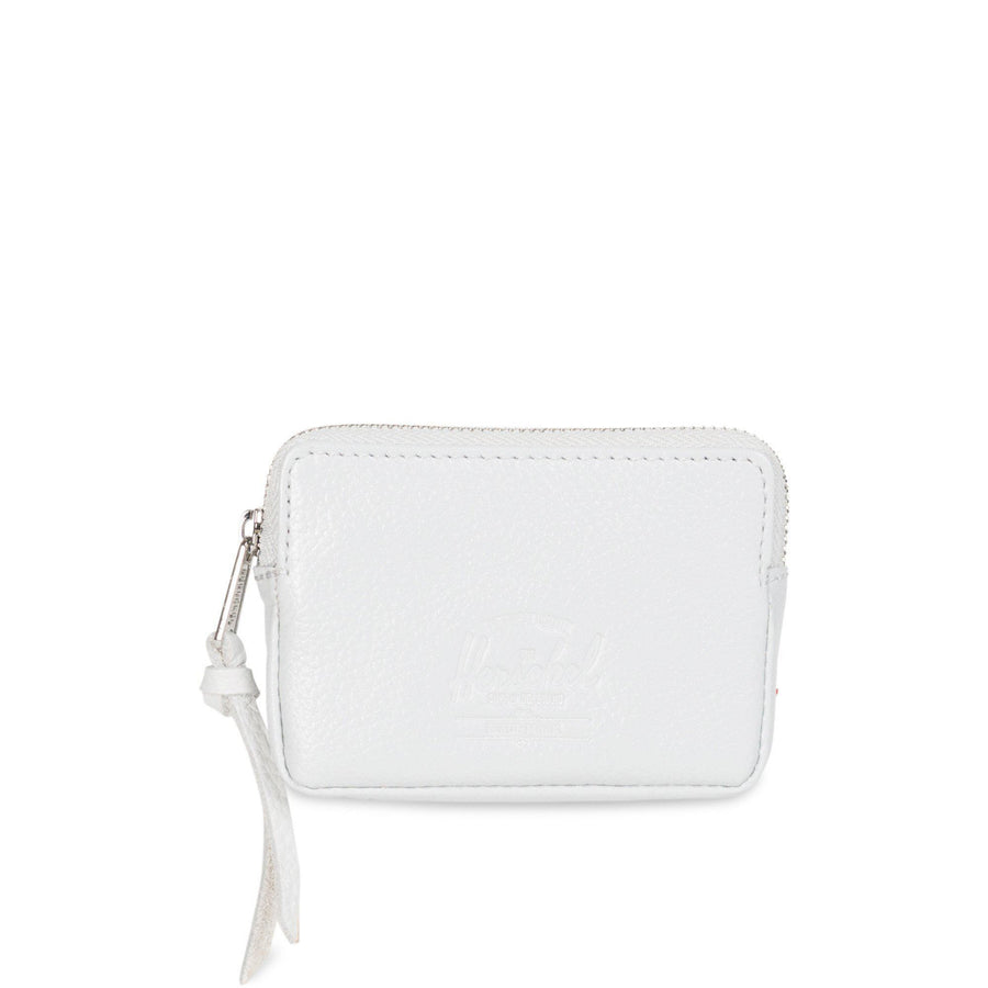 herschel pouch,OXFORD POUCH LEATHER RFID WALLETS LEATHER • 1490 GLACIER GREY PEBBLED LEATHER, image 1