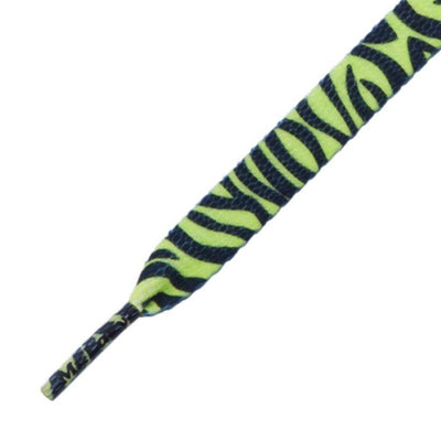 lacci mr lacy MR.LACY PRINTIES  • NEON LIME YELLOW ZEBRA