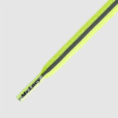 lacci mr lacy MRLACY RUNNIES FLAT 80CM NEON LIME YELLOW