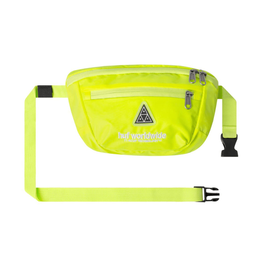 huf marsupi,Hi-Vis Side Bag Neon Yellow, image 1
