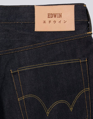 Edwin Ed-55 Regular Tapered Unwashed foto 4