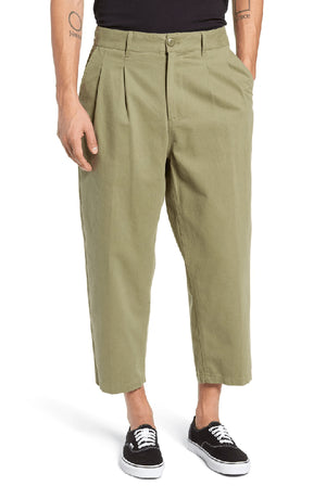 obey Fubar Pleated Pant Burnt Olive foto 3