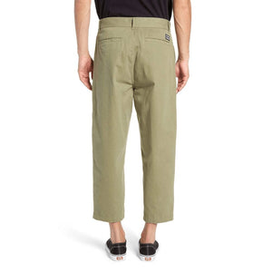 obey Fubar Pleated Pant Burnt Olive foto 4