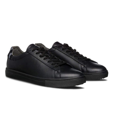 scarpe clae BRADLEY BLACK LEATHER GREY