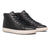 scarpe clae BRADLEY MID BLACK PEBBLED LEATHER