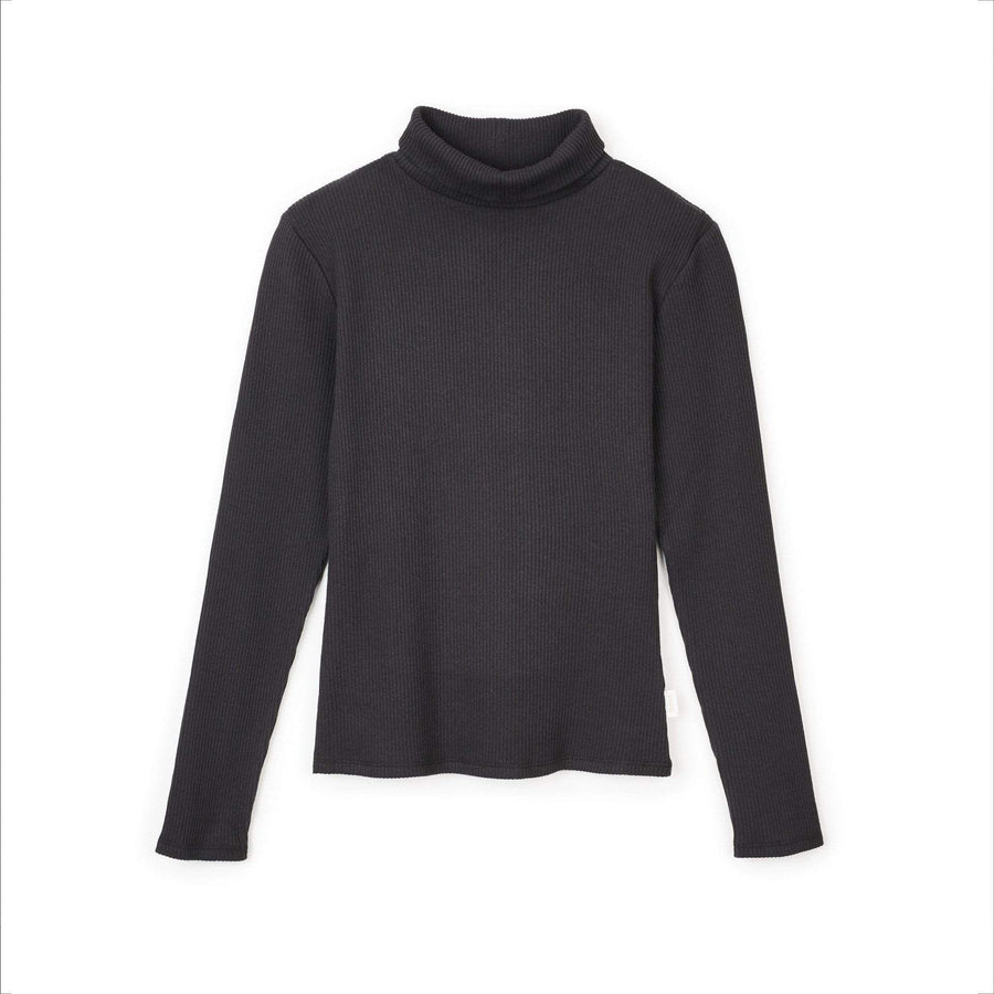 brixton t-shirt,Ashley L/S Turtleneck Black, image 1