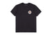 t-shirt brixton RAVAGE S/S PRT WASHED BLACK