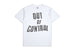 t-shirt brixton STRUMMER OUT OF CONTROL S/S TE WHITE