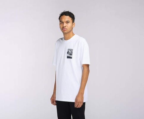 t-shirt edwin FROM MT. FUJI TS WHITE GARMENT WASH