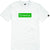 t-shirt Emerica PURE BAR SS TEE WHITE