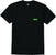 t-shirt Emerica PURE TRIANGLE POCKET BLACK